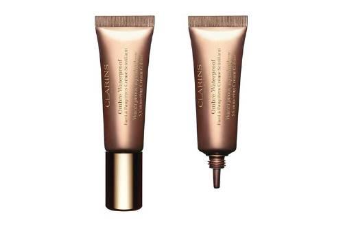 Водостойкие мерцающие тени для век Waterproof Cream Eyeshadow,Clarins