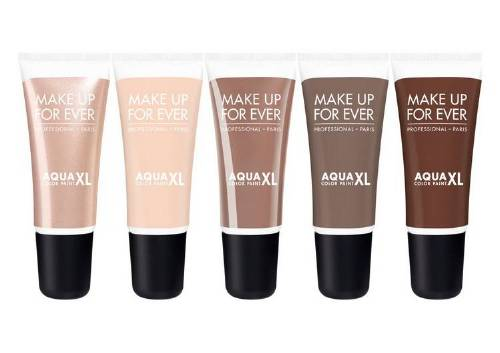 Кремовые тени для век Aqua XL Color Paint,Make Up For Ever