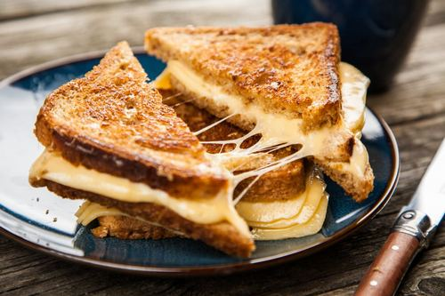 Grilled Cheese on Sola Bread