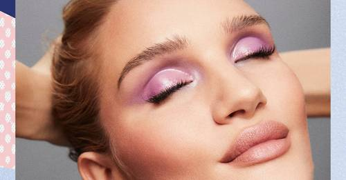 According to Pinterest, purple eyeshadow is the trend we're all jumping on