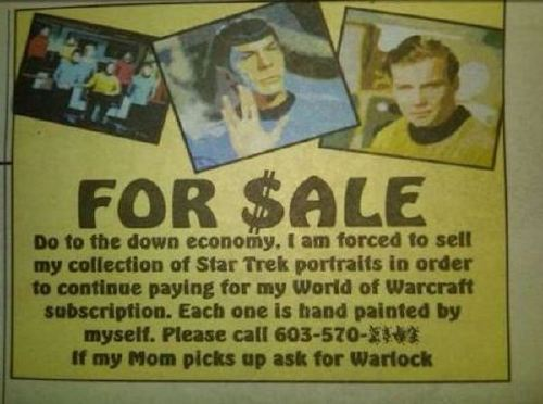 Funny classified ads almost make me want to open the newspaper