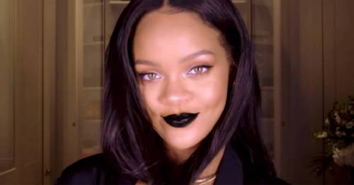 Rihanna's latest makeup tutorial is SO perfect for Halloween