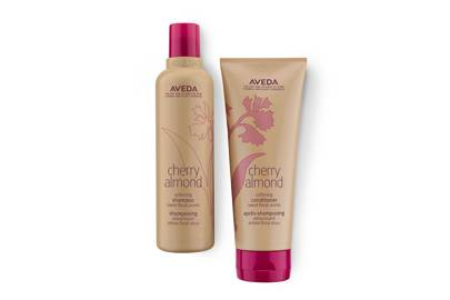 Cherry Almond Shampoo (£15.50) & Conditioner (£17.50), Aveda