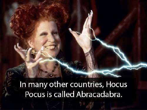You're never too old for 'Hocus Pocus' facts