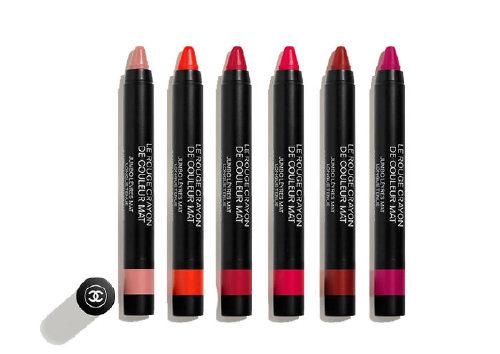 Матовая помада-карандаш для губ Le Rouge Crayon de Couleur Mat, Chanel