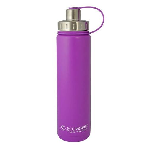 EcoVessel BOULDER TriMax Stainless Steel Water Bottle