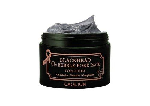Кислородная маска для очищения пор Blackhead O2 Bubble Pore Pack, Caolion