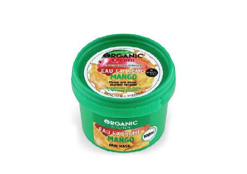 Маска для волос Вкусное питание Eau Extreme Mango, Organic Kitchen