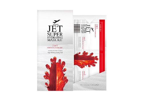 Комплекс масок «Очищение и смягчение» Jet Super Hydrating Mask Kit, Double Dare