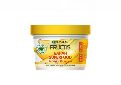 Маска для очень сухих волос Fructis Superfood «Банан», Garnier