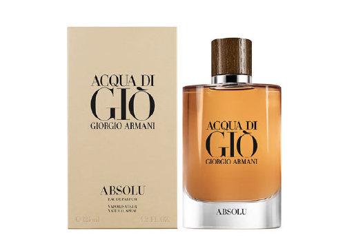Perfumery Acqua di Gio Absolu, Giorgio Armani
