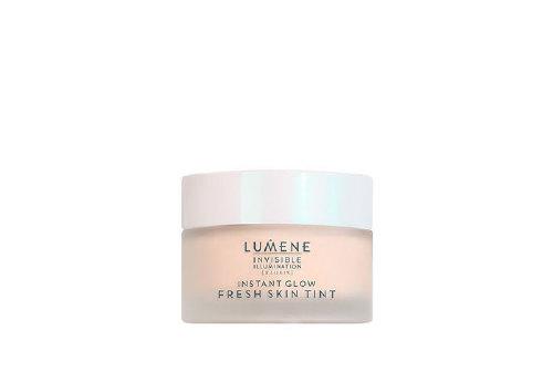 Крем для лица с тональным эффектом Invisible Ilumination Instant Glow Fresh Skin Tint, Lumene