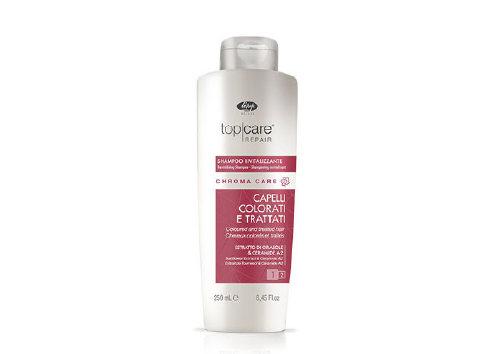 Оживляющий шампунь для окрашенных волос Top Care Repair Chroma Care Revitalizing Shampoo, Lisap Milano