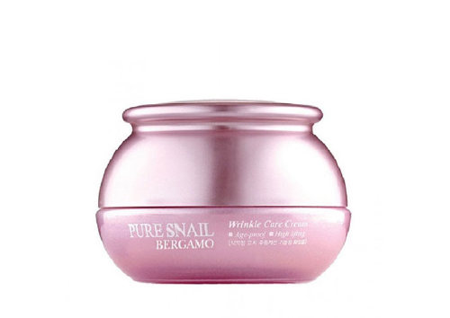 Омолаживающий крем Pure Snail Wrinkle Care Cream, Bergamo