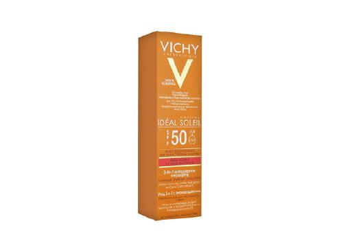 Уход 3-в-1 с антиоксидантами Idéal Soleil SPF 50, Vichy