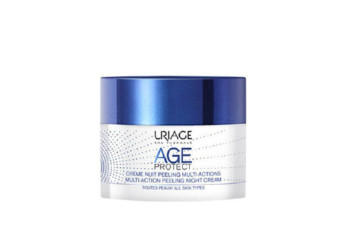 Ночной крем-пилинг Age Protect Multi-action Peeling Night Cream, Uriage