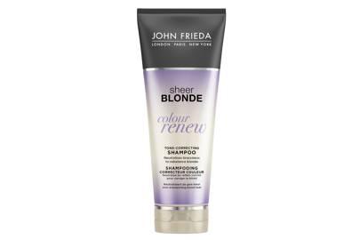 Sheer Blonde Tone-Correcting Shampoo, £5.99, John Frieda