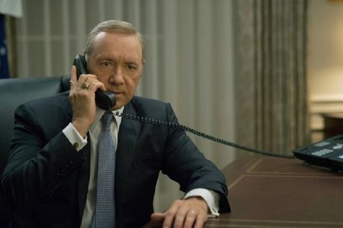 HOUSE OF CARDS, Kevin Spacey, 'Chapter 41', (Season 4, ep. 402, airs March 4, 2016). photo: David Giesbrecht / Netflix / courtesy Everett Collection
