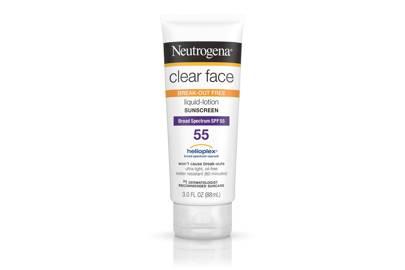 The product: Neutrogena Clear Face Liquid Lotion Sunscreen, £12.49