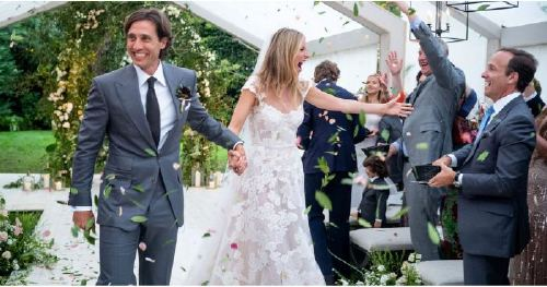 Gwyneth Paltrow Is Glowing in This Glimpse of Her Gorgeous Wedding to Brad Falchuk