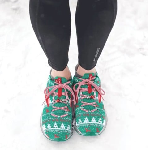 Brooks Ugly Sweater Sneakers