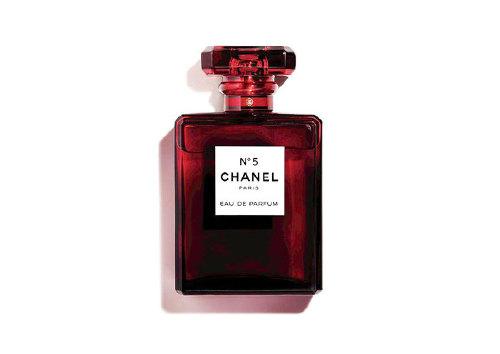 Лимитированный выпуск парфюмерной воды Chanel №5 Noel Red Limited Edition, Chanel
