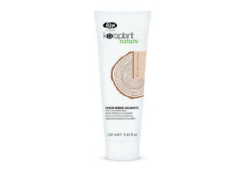Успокаивающая маска для чувствительной кожи головы Keraplant Nature Skin-Calming Mud, Lisap Milano