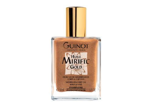 Body Oil Huile Mirific Gold, Guinot