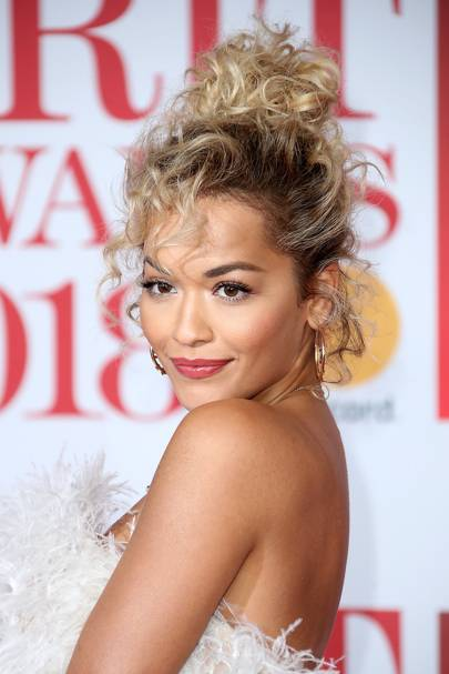 And Rita Ora brought back the perm and made it cute.