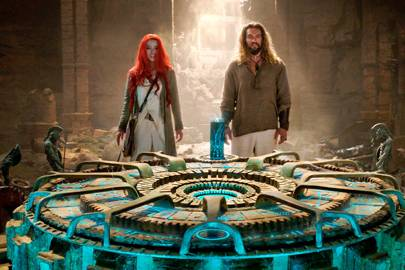 Amber Heard reveals Jason Momoa is her 'cleavage goals' in our hilarious Aquaman video