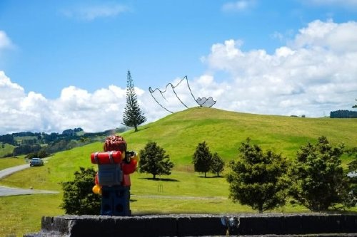 Backpacker lets Lego man, highlight his adventures in New Zealand, and everything is AWESOME
