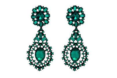 Jewelled Statement Earrings, £14, Next