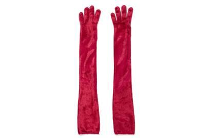 Velvet Gloves, £180, Alaïa