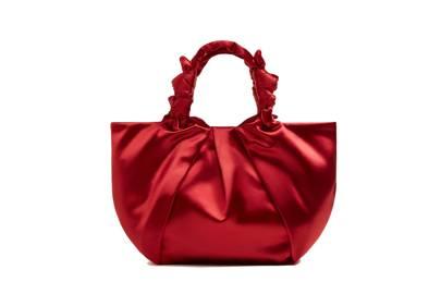 Knotted Satin Bag, £49.99, Mango