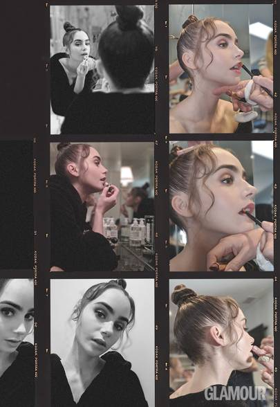 Lily Collins Gets Candid