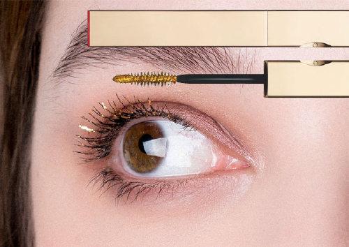 Топовое покрытие для ресниц с золотым эффектом Mascara Top Coat, Clarins