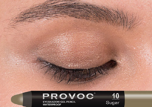 Тени-карандаш Eyeshadow Pencil, 10 Sugar, Provoc
