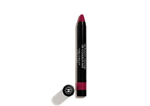 Матовая помада-карандаш для губ LeRougeCrayondeCouleurMat, оттенок Impact, Сhanel