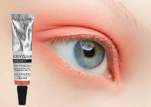 Кремовый пигмент Concrete Salmon, Krygina Cosmetics