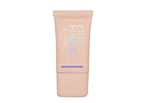 База-хайлайтер Liquid Strobe Highlighter, оттенок Iridescent, Maybelline New York x Gigi Hadid