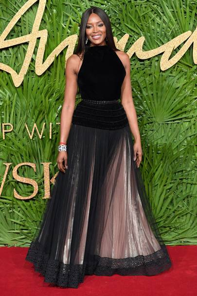 Who: Naomi Campbell