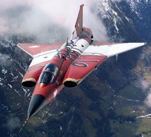 "Facts on Sweden's futuristic fighter, Saab-35 ""Draken"""