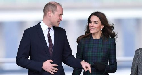 Prince William, and Kate Middleton, Smile Despite the Wind, as They Visit Scotland