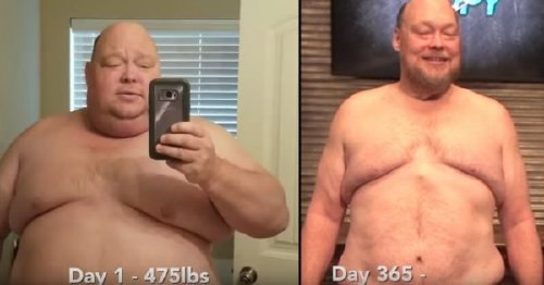 2721695 2 This man is almost unrecognizable after his dramatic weight loss journey (17 photos)