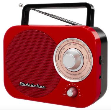 Studebaker Portable AM/FM Radio  -  ON SALE