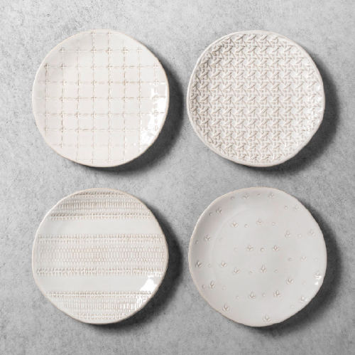 Hearth & Hand with Magnolia Appetizer Plates (4-pack). (Photo: Target.com)