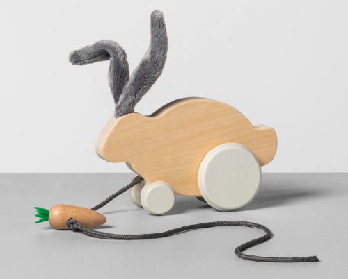 Hearth & Hand with Magnolia Bunny and Carrot Pull Along Toy. (Photo: Target.com)