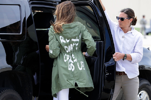 First Lady Melania Trump's, Stylist Finally Addresses, The Hidden Messages In Her Wardrobe
