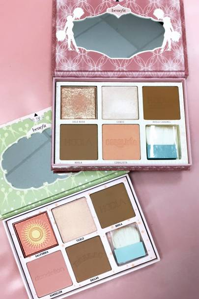 I was the first person, to try Benefit's brand new palettes, here's my honest verdict...