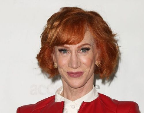 Comedian Kathy Griffin in early February.